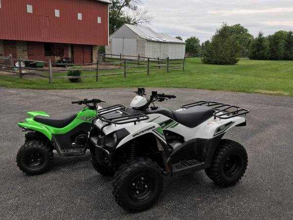 Showcase cover image for dmeluzio22's 2016 Kawasaki Brute Force 300