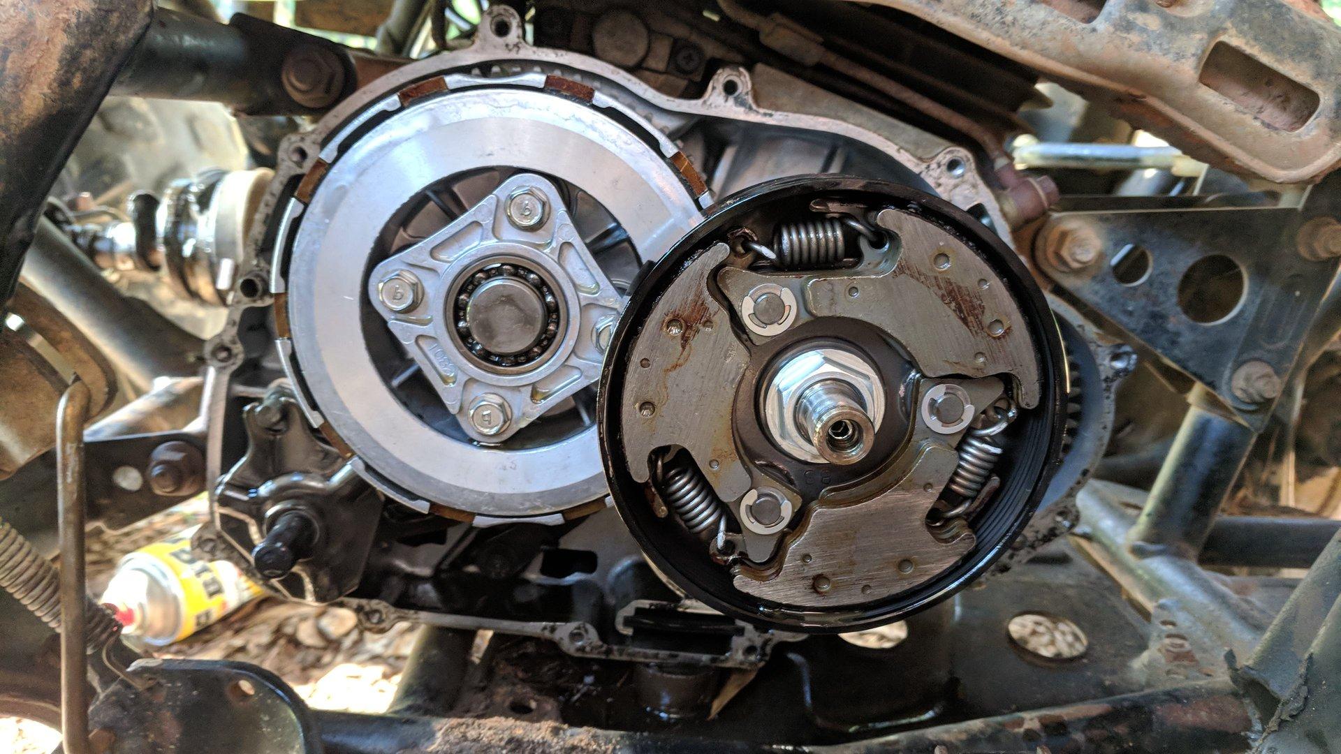 Kawasaki Bayou 220 Clutch Removal | Kawasaki ATV Forum